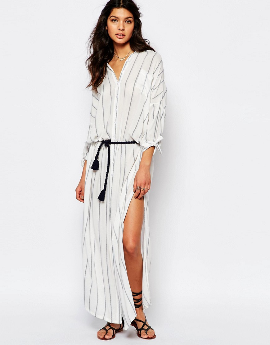 maxi dress asos camisero www.decharcoencharco.com