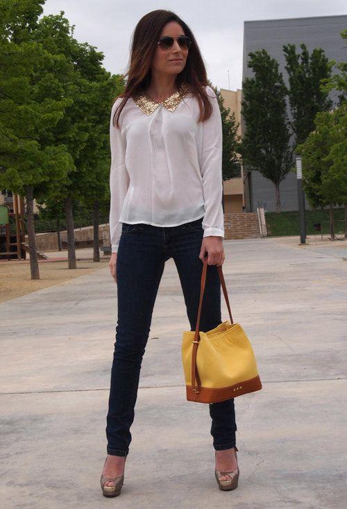 Outfit bolso amarillo yellow bag 12 www.decharcoencharco.com u2013 DE CHARCO EN CHARCO