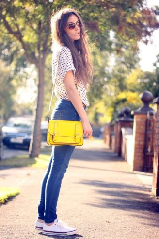outfit bolso amarillo yellow bag 5 www.decharcoencharco.com