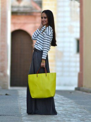 outfit bolso amarillo yellow bag 9 www.decharcoencharco.com