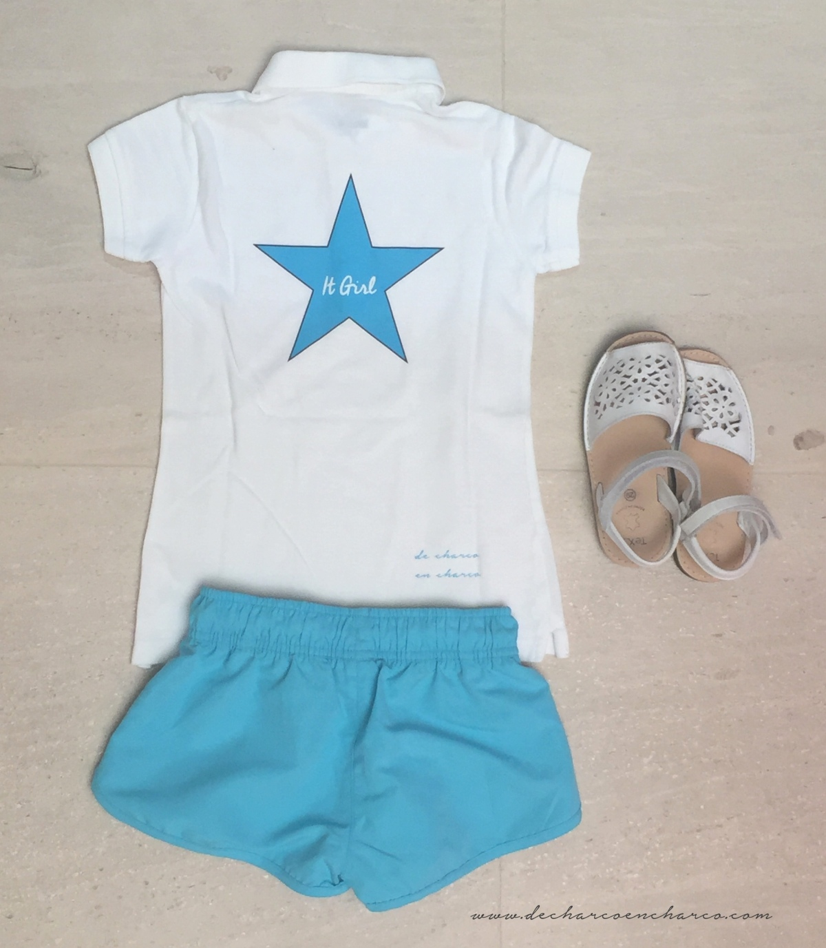 look primaversa sport niña polo detras it girl www.decharcoencharco.com