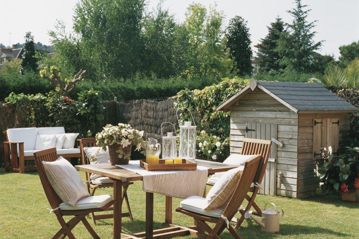 c mo decorar la mesa para comer en el jard n o la terraza