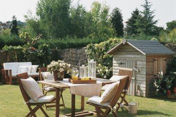 Cómo Decorar La Mesa Para Comer En El Jardín O La Terraza