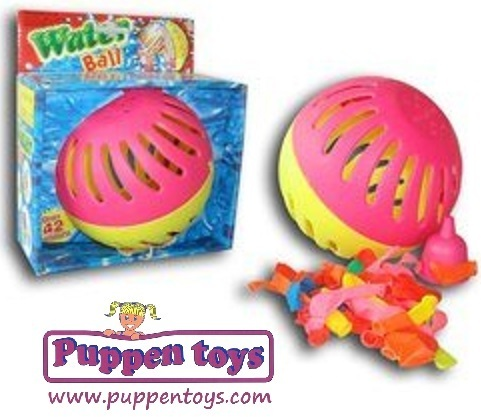 juguetes verano jardin water ball www.decharcoencharco.com