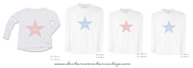 conjunto-familia-estrellas-camisetas-blancas-www-decharcoencharcoshop-com