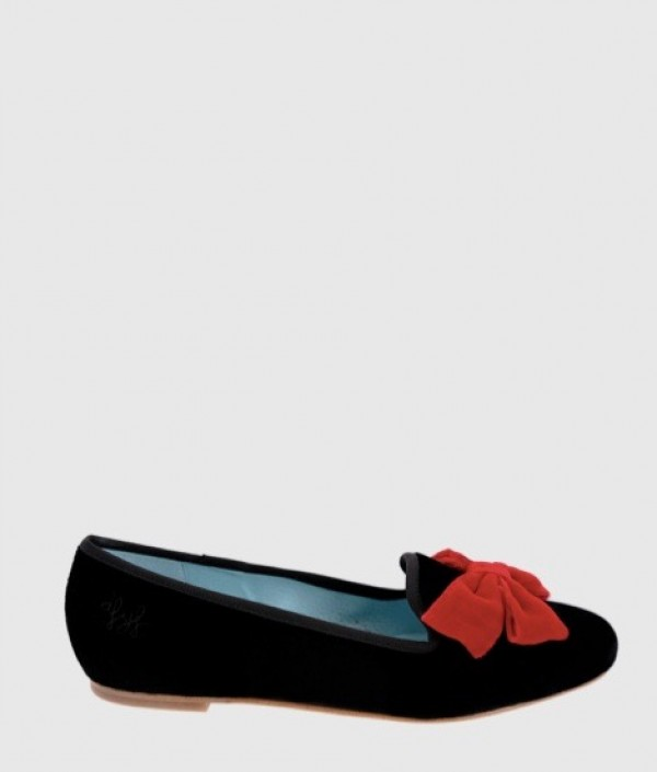 negro-lazo-rojo-slippers-terciopelo-bailarinas-de-flores-y-floreros-www-decharcoencharco-com