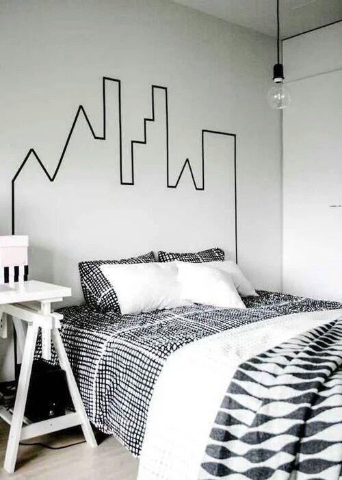 Decoración En Blanco Y Negro Para Tu Dormitorio De Charco