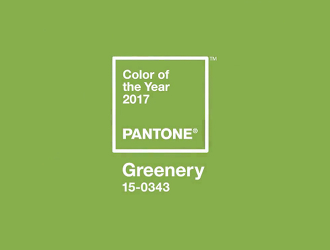 greenery pantone 2017 color www.decharcoencharco.com