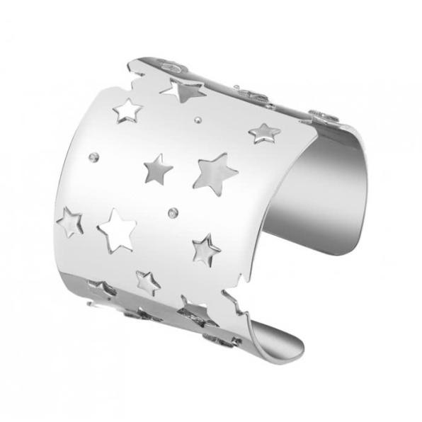 brazalete-de-plata-constellation-mashed-star-cuff-white apodemia www.decharcoencharco.com