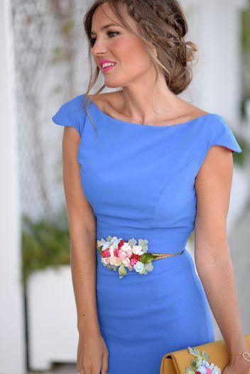 moda complementos 11 cinturon flores www.decharcoencharco.com