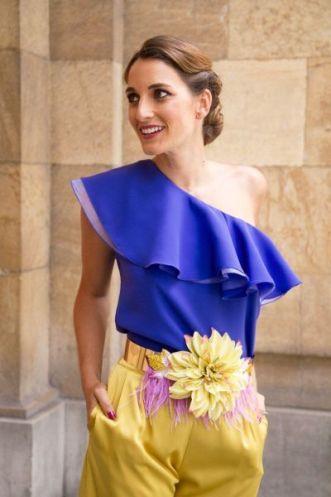 moda complementos 5 cinturon flores www.decharcoencharco.com