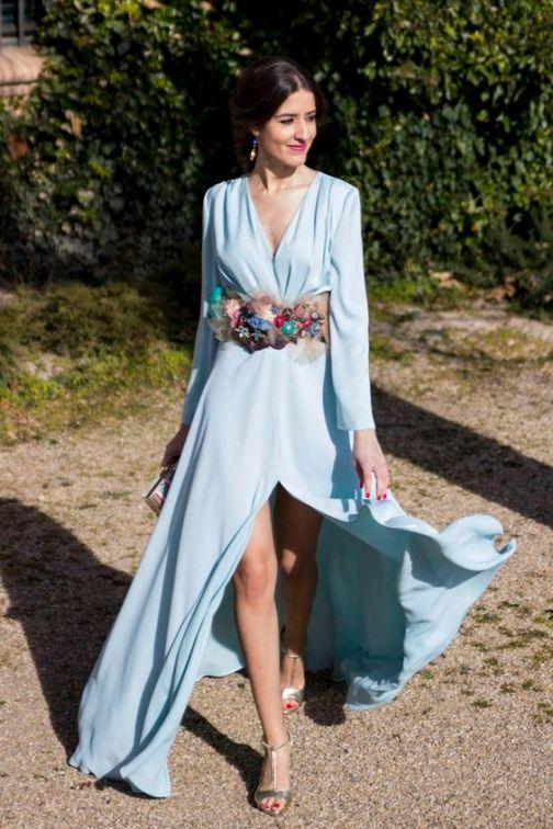 moda complementos 7 cinturon flores www.decharcoencharco.com