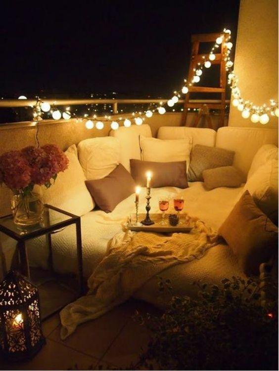 decoracion iluminacion jardin terraza balcon www.decharcoencharco.com