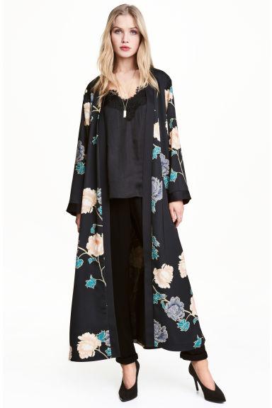 kimono estampado hm