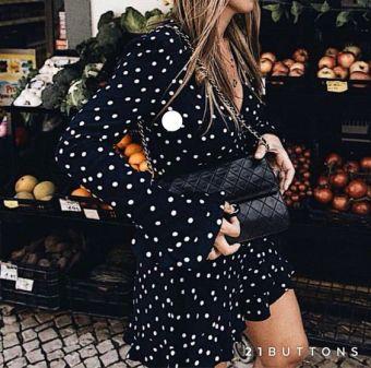 moda mono lunares zara 4 tendencias www.decharcoencharco.com