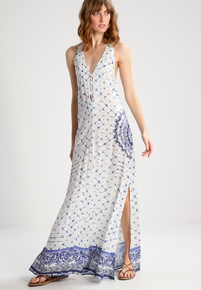 vestido largo desigual zalando -20