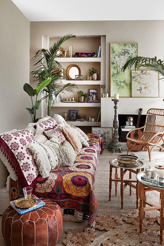 decoracion estilo boho www.decharcoencharco.com