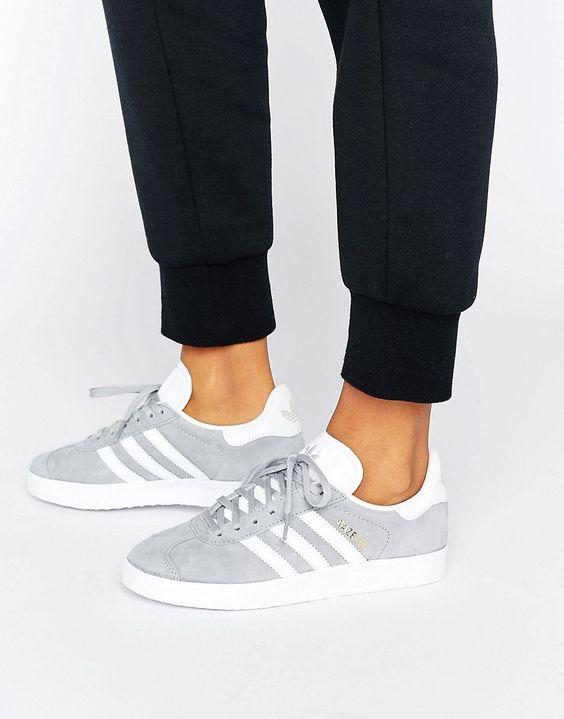 moda adidas gazelle zapatillas 3 gris rosa www.decharcoencharco.com