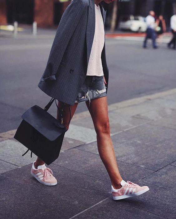 moda adidas gazelle zapatillas 6 gris rosa www.decharcoencharco.com